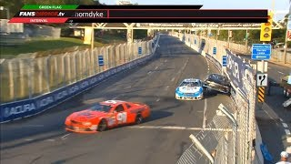 NASCAR Pinty's Series 2019. Grand Prix Toronto. Crashes Compilation