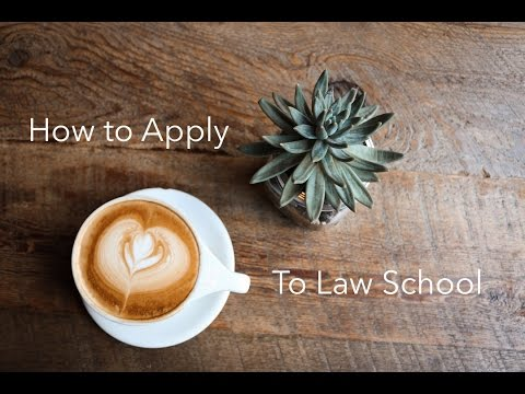 How I Got Into Stanford Law // How To Apply To Law School