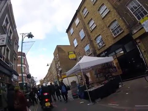 London Sights - Brick Lane Market London E1 - London's Sights  - ESL British English Pronunciation