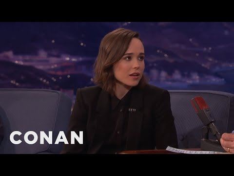 Ellen Page Will Name Your Pet For You  - CONAN on TBS