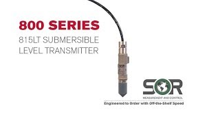 800 Series Webinar - With New 815LT Submersible Level Transmitter