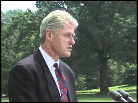 Pres. Clinton's Remarks on the Possible Discovery of Life on Mars (1996)