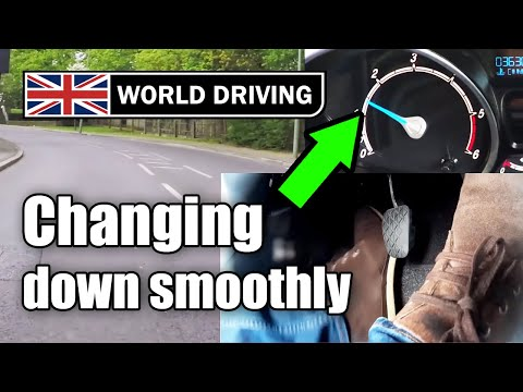 How to change gear smoothly - World Driving