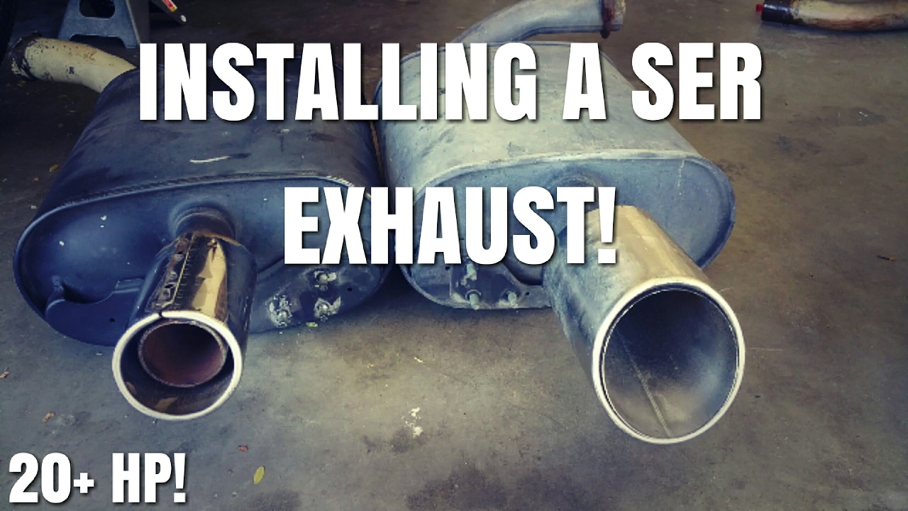 hight resolution of how to remove a exhaust on a nissan altima nissan maxima part 1
