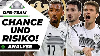 DFB wirft Weltmeister raus! Muss das sein?!   Analyse