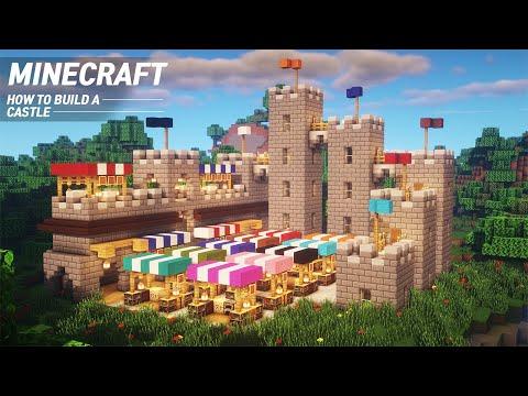 Minecraft : CASTLE Tutorial |How to Build in Minecraft (#64)