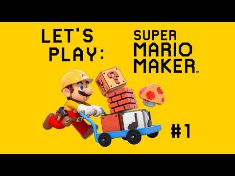 Super Mario Maker part 1 - Aller Anfang ist schwer | GeekBro und Espurrimi