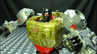 Power of the Primes Voyager GRIMLOCK: EmGo's Transformers Reviews N' Stuff