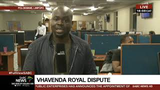 Update on the VhaVenda Royal dispute thumbnail