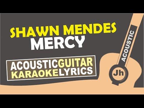 Shawn Mendes - Mercy ( Karaoke Acoustic )