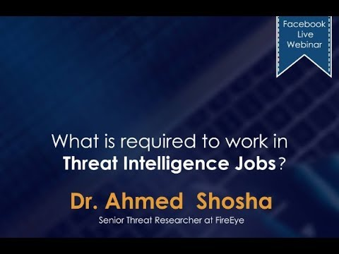 What is required to work in Threat Intelligence Jobs?