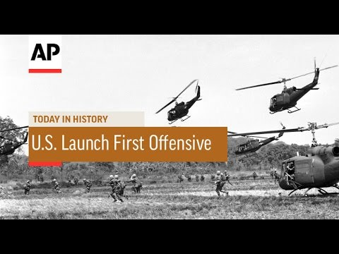 Vietnam: U.S. Forces Launch First Major Offensive - 1965  | Today in History | 28 June 16