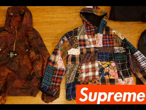 ADDING THE PATCHWORK ANORAK TO MY SUPREME COLLECTION