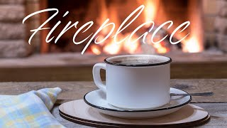 Fireplace and Smooth JAZZ - Soft Instrumental JAZZ & Bossa Nova - Chill Out Music