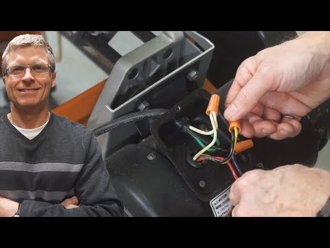 How to Upgrade a Table Saw from 110V to 220V - YouTube