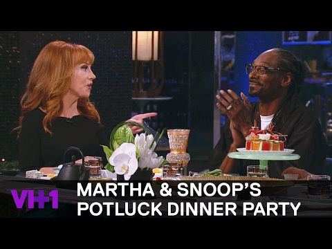 Snoop Dogg Put Kathy Griffin In An Eminem Music Video | Martha & Snoop's Potluck Dinner Party