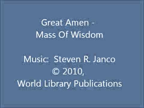 Great Amen - Mass of Wisdom (Janco)