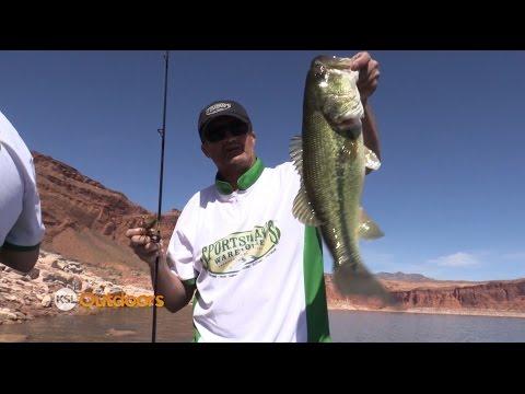 Spring Fishing At Lake Powell