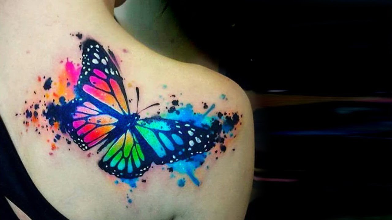 b2cca6132a569 Watercolor Tattoos That Will Convince Every Woman To Get Inked - YouTube