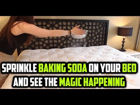 Sprinkle Baking Soda All Over Your Bed and See The Magic | Jazz Health Studio