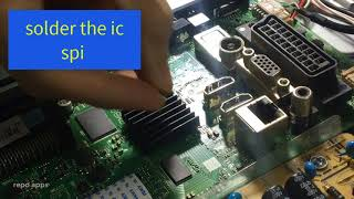 Repairing Dead Vestel Smart Tv Chassis 17mb97 with rt809 programmer