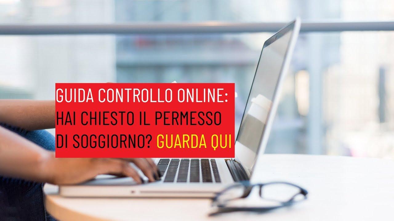 GUIDA: Verificare online se il permesso di soggiorno è ...