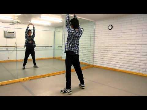 Hadouken!  MAD Dance Tutorial  Bradly Johnson  Parts 1 & 2