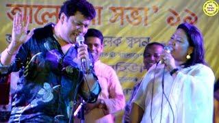 মমতাজ বেগম ও রবি চৌধুরী ডুয়েট গান।স্থায়ী ঠিকানা আমায়।Live concert Momtaz,robi chowdhury,Duet Song