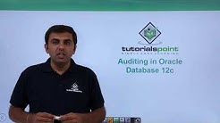 Oracle DB 12c - Auditing