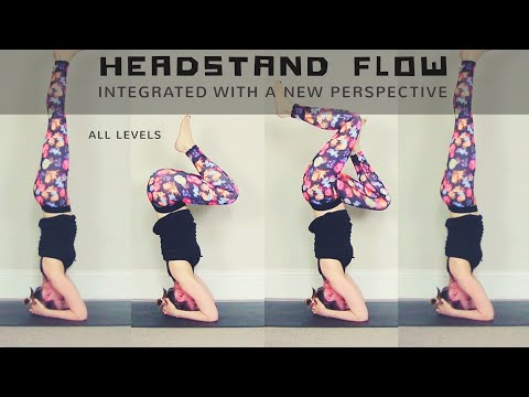 70 min HEADSTAND FLOW // Total Body Integration, New Perspective, Calm Mental Clarity | All Levels