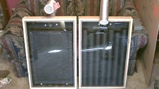 "Solar Air Heater! - The ""screen Absorber"" Solar Air Heater! - Easy Diy (full Instructions)"