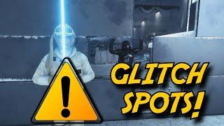 All Major Glitch Spots - Tutorial [PC/PS4/X1]  | Star Wars Battlefront