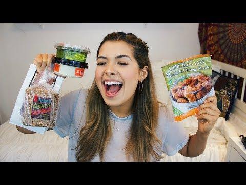 Vegan TRADER JOE'S Taste Test! | ItsMandarin
