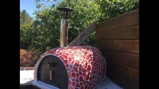 £50 DIY PIZZA OVEN - No Skill - Using Leftovers \u0026 A Steel Barrel - Time Lapse