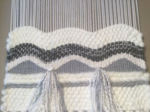 WEAVING INSTRUCTIONS - PART 6 - WAVY LINES