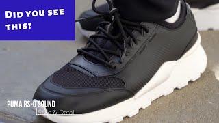 PUMA RSO Sound Black Sneakers Style