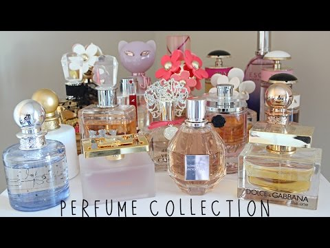 My Perfume Collection! Favorite Fragrances!