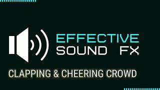 Clapping & Cheering Crowd - Sound Effect (HD)
