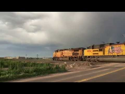 Union Pacific Greeley Sub Railfanning May 2016