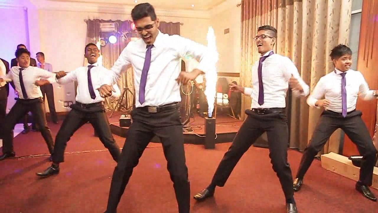 Sri Lankan Wedding Surprise Dance Dilani Usith Youtube