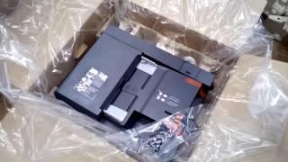Kyocera TASKalfa 2201 розпакування і підключення DP-480, CB-481H, PF-480, CB-481L, DU-480