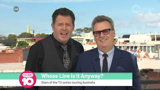 Brad Sherwood & Greg Proops' Favourite 'Whose Line Is It Anyway?' Memories | Studio 10