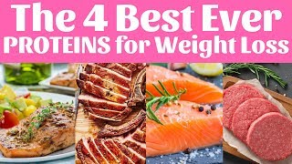 The 4 Best Ever PROTEINS for Weight Loss   Metabolic Cooking - Fat Loss Cookbook