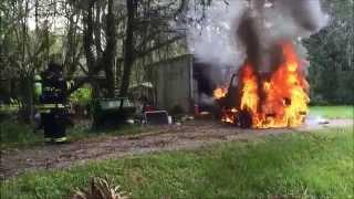 Vehicle Fire - 10.15.14 - Immokalee, FL