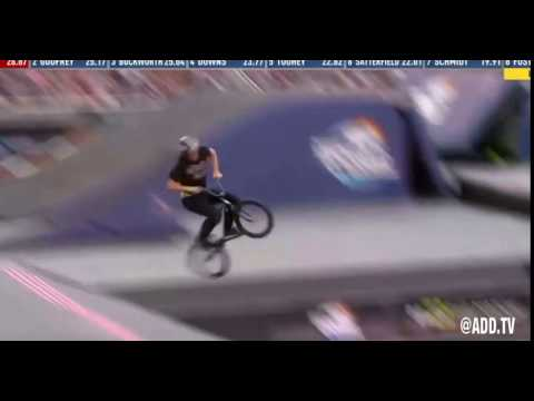 Ryan Williams lands BMX 1080 front flip at Nitro World Games HD