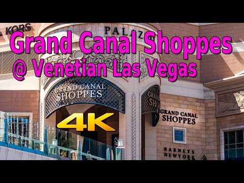 GRAND CANAL SHOPPES LAS VEGAS STRIP REOPENING AT THE VENETIAN / PALAZZO in 4K! - 8-12-2020