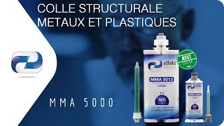 Colle Structurale : Collage Structural Aluminium & ABS en immersion - Colle Structurale MMA 5000