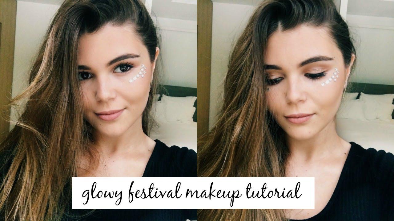 Coachella Inspired Makeup Tutorial Youtube