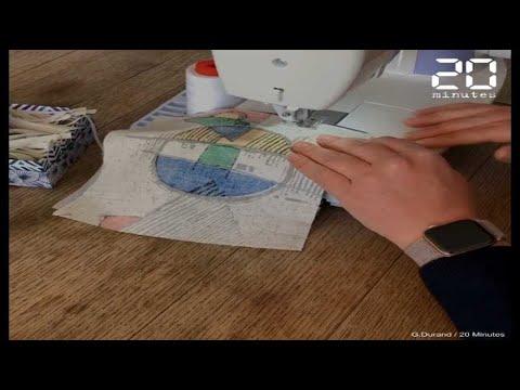 Coronavirus: Comment fabriquer son propre masque en tissu?