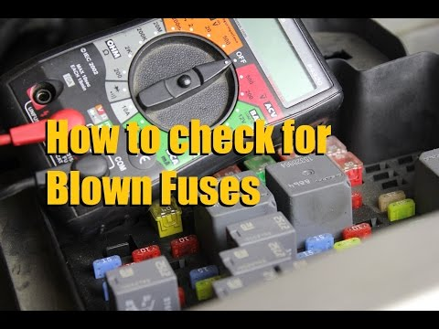 How to check a Car FUSE (Multi-meter and Test Light) | AnthonyJ350